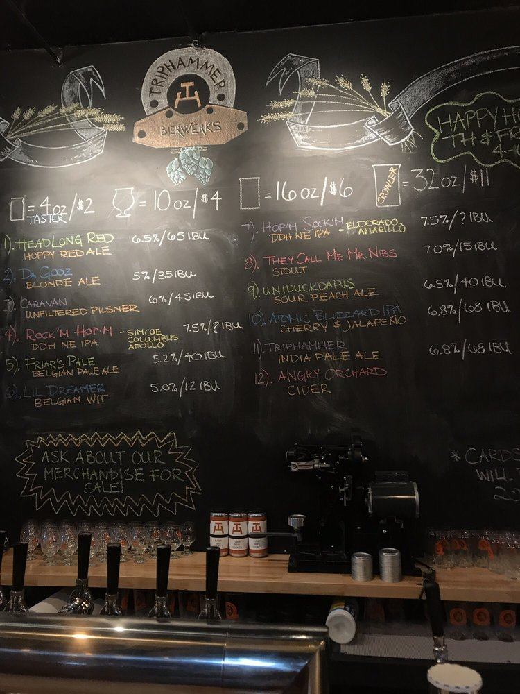 Triphammer Bierworks: 111 Parce Ave, Fairport, NY