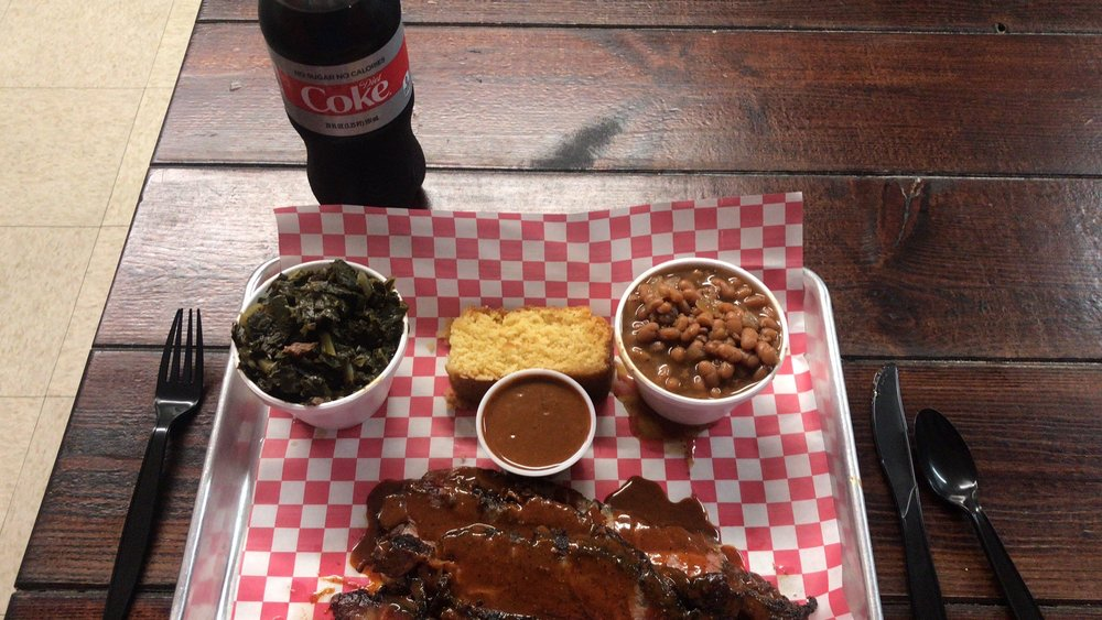 Food from Big Bulls Bangn BBQ and Southern Comfort Food