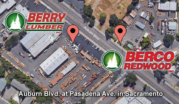 Berco Redwood 4560 Auburn Blvd Sacramento Ca Building Materials Mapquest