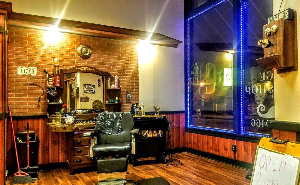 The Old Garage Barbershop and Salon: 105 S Ludington, Columbus, WI