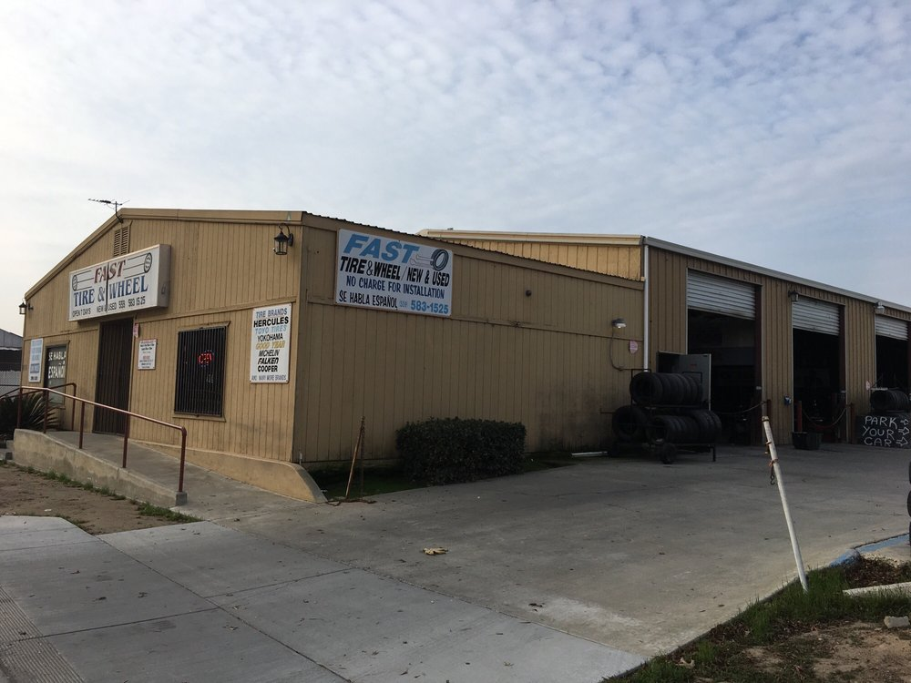 Fast Tire & Wheel: 550 S 10th Ave, Hanford, CA