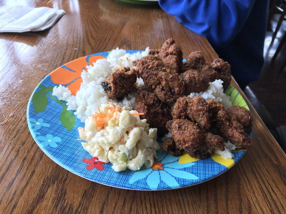 Food from Tiki Teriyaki Grill