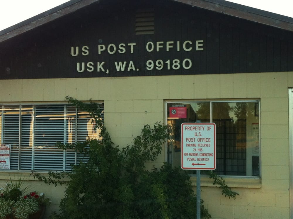 U S Post Office - Usk: 1-99 River Rd, Cusick, WA