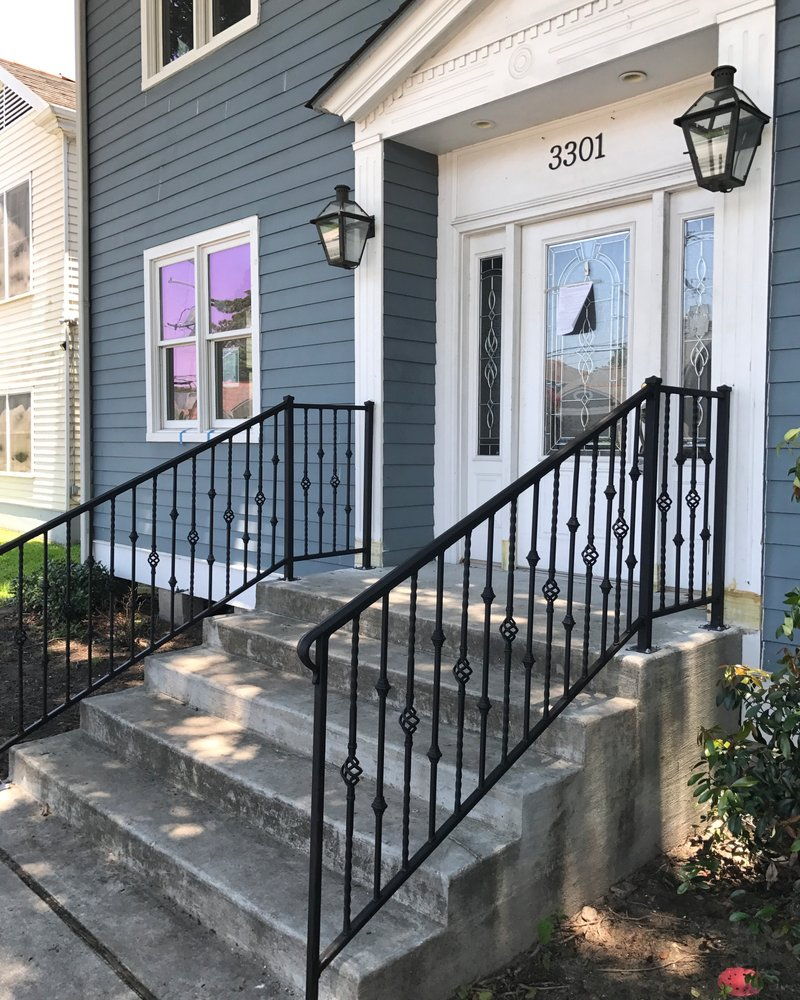 Railing Design For Front Of My House Yelp