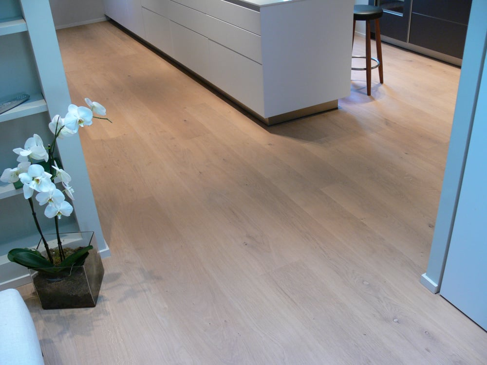 Dinesen Oak Wood Floor Sand And Junckers Whitenatural Oil Mix Yelp