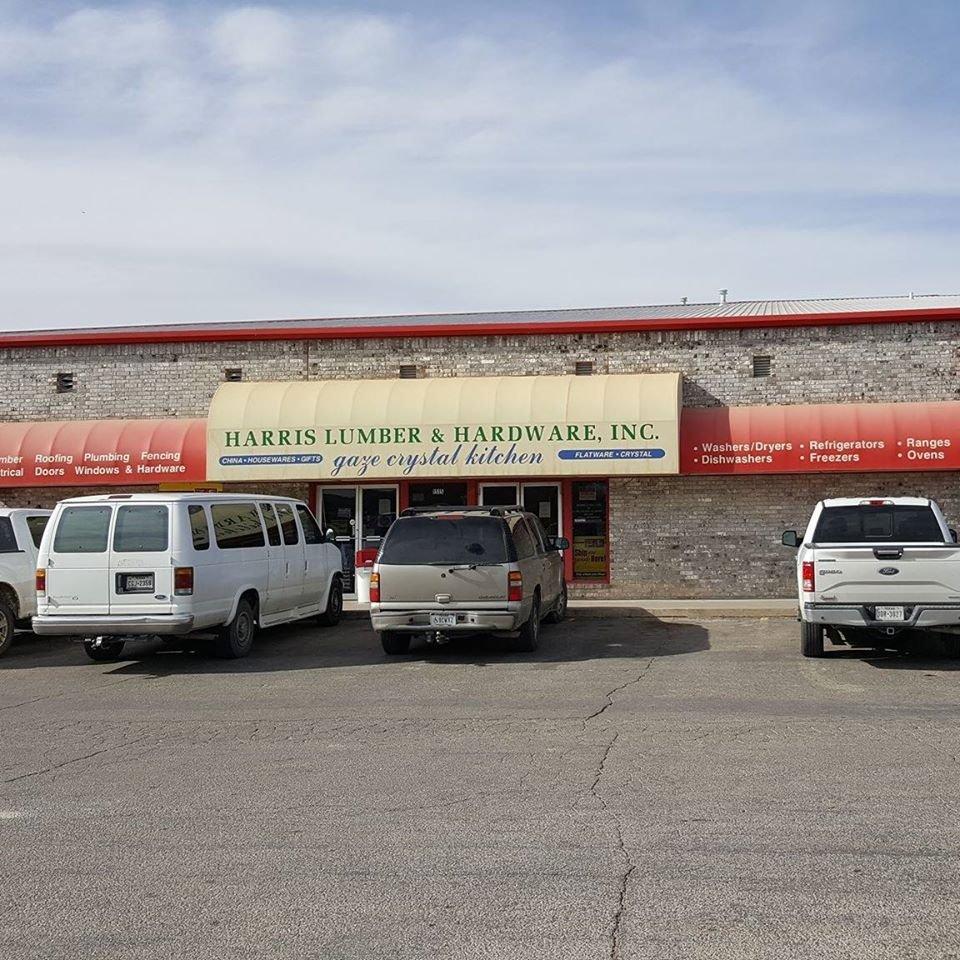 Harris Lumber & Hardware: 1515 E Fm 700, Big Spring, TX