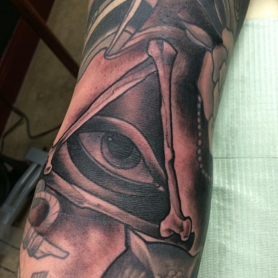 All seeing eye tattooed by john black yelp for Tattoos in tulsa