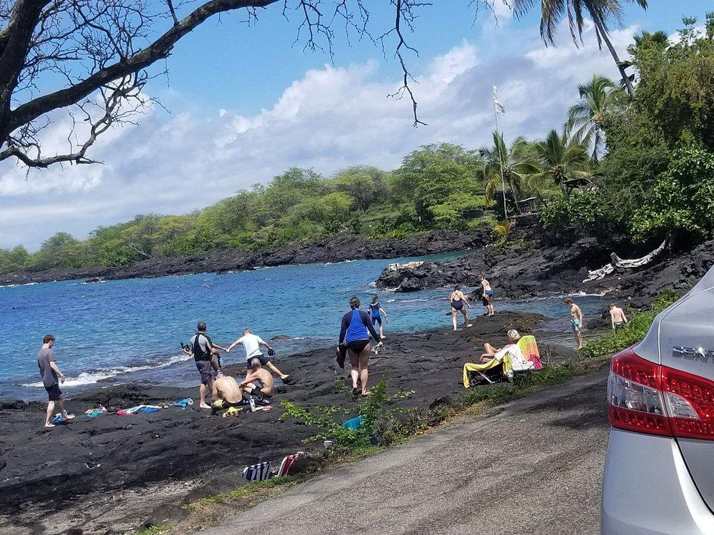 Pae'a aka two-step: Honaunau Beach Rd, Captain Cook, HI