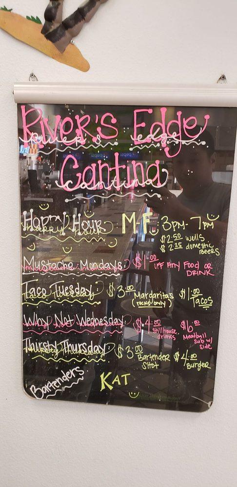 Rivers Edge Cantina: 11300 Resort Dr, Parker, AZ