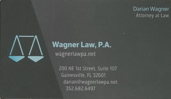 Wagner law pa divorce family law 200 ne 1st st gainesville photo of wagner law pa gainesville fl united states business card colourmoves