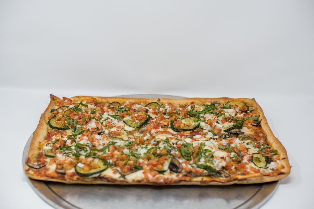 Food from Pasquale's Neighborhood Pizzeria
