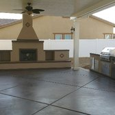 Photo Of Extreme Backyard Designs   Ontario, CA, United States. New  Fireplace And