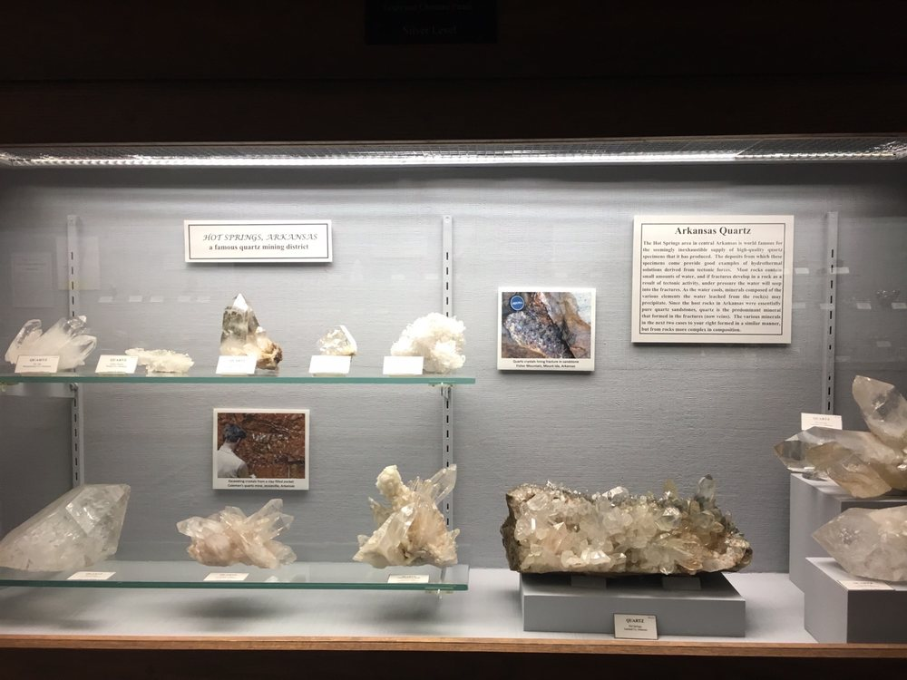 Social Spots from A E Seaman Mineral Museum
