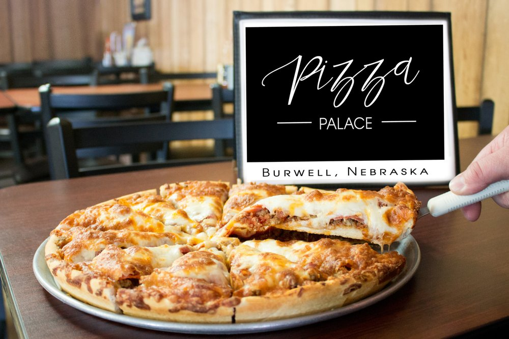 Pizza Palace: 204 Grand Ave, Burwell, NE