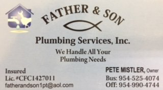 Father & Son Plumbing Services: 500 SW 21st Ter, Fort Lauderdale, FL