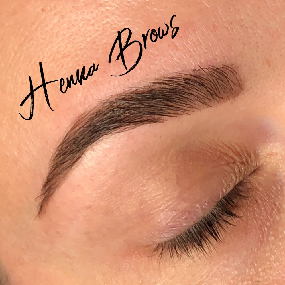 Henna Brow Tint Lasts Up To 10 Days On The Skin And Up To 6 Weeks On