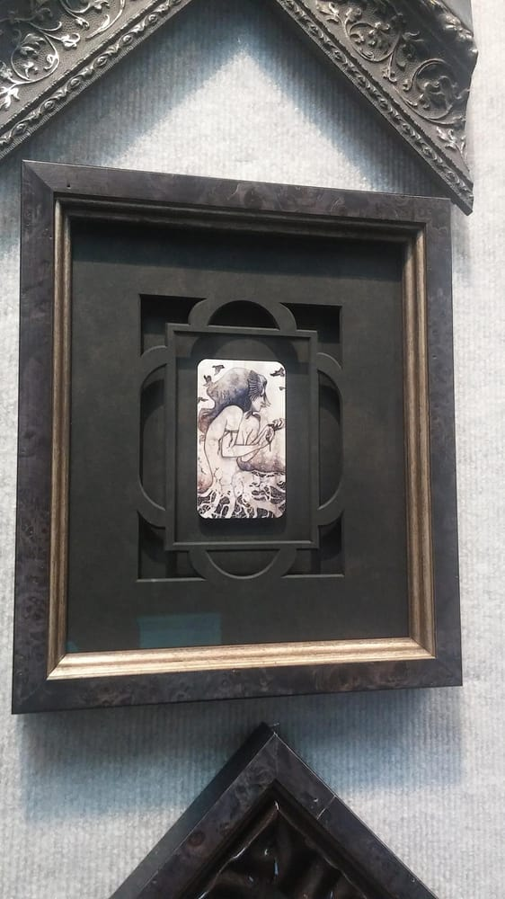 Framed with raised mat design and Tru Vue Museum Glass. Art by Kelly ...