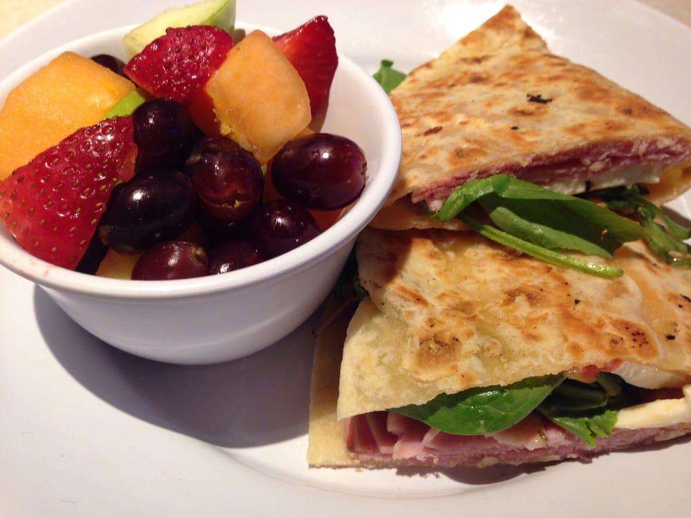 Rosemary ham and mozzarella piadina - Yelp