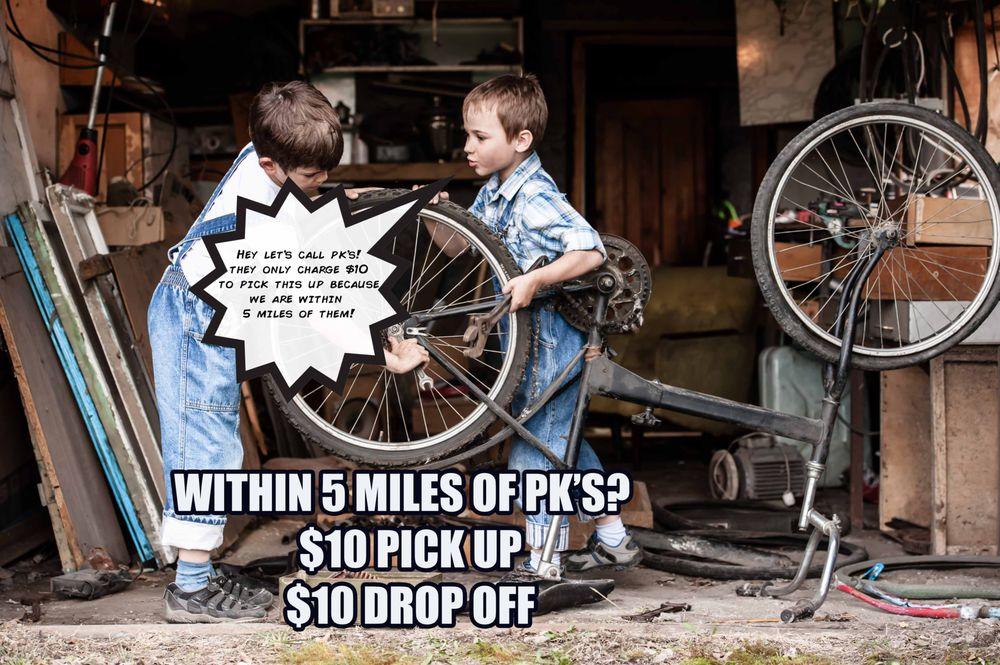 Pk's Bike Shop: 95754 Amelia Concourse, Fernandina Beach, FL