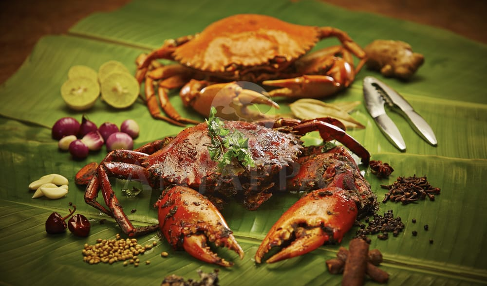 Crab roast curry yelp for Anjappar chettinad south indian cuisine