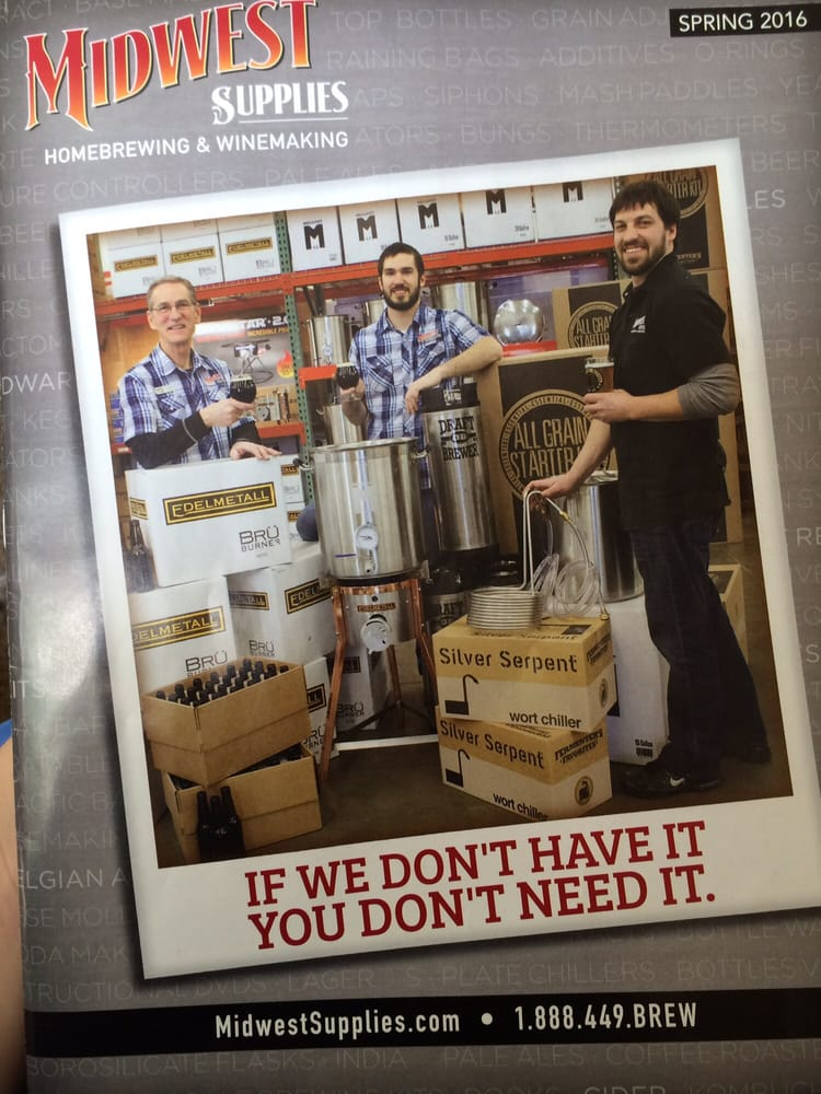 Find Midwest Homebrewing and Winemaking Supplies in St Louis Park with Address, Phone number from Yahoo US Local. Includes Midwest Homebrewing and Winemaking Supplies Reviews, maps & directions to Midwest Homebrewing and Winemaking Supplies in 3/5(46).