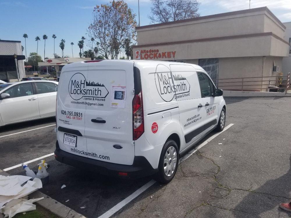 M&H Locksmith: 400 S Baldwin Ave, Arcadia, CA