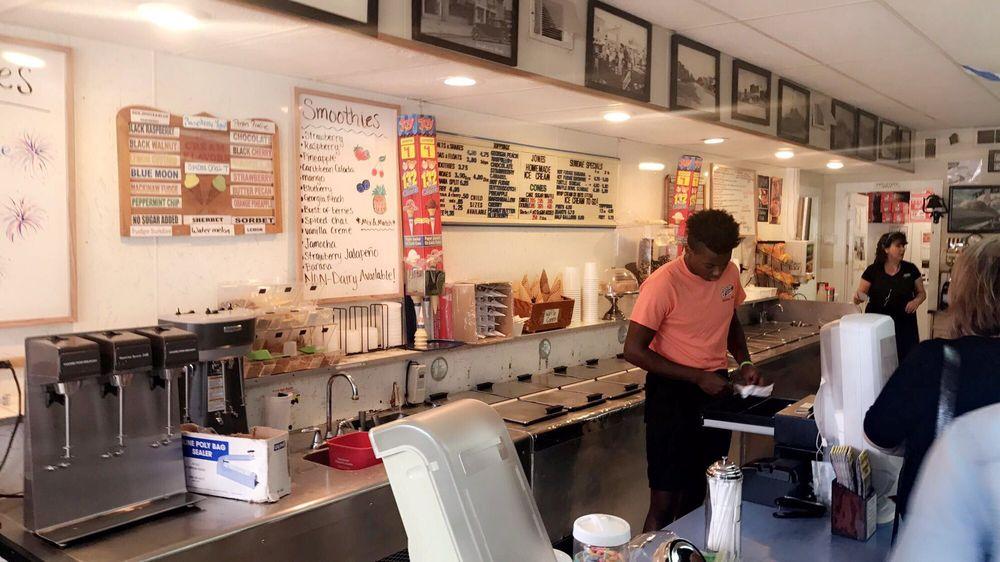 Jones Home Made Ice Cream: 858 Michigan Ave, Baldwin, MI
