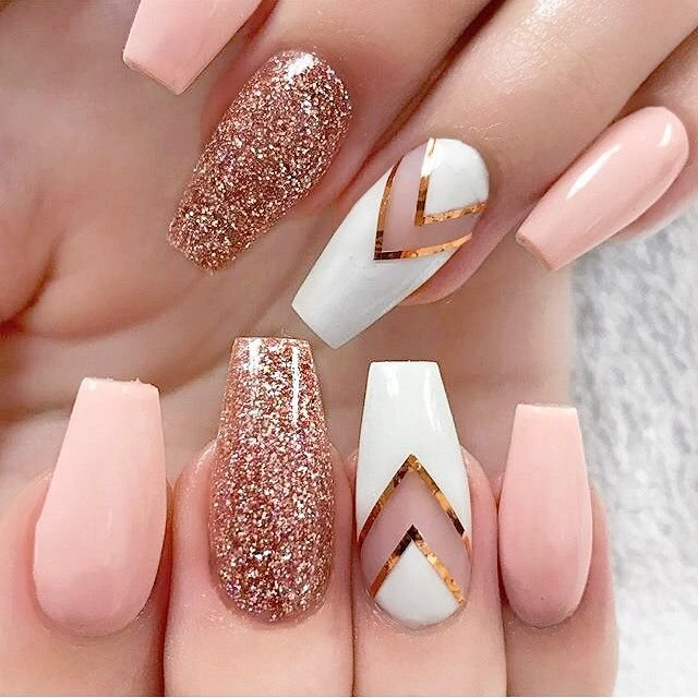 Photo of Pretty Nails - Chicago, IL, United States. what a cute acrylic