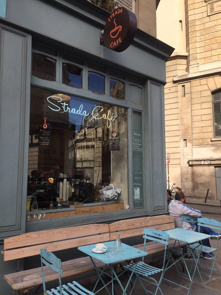Strada Caf Ef Bf Bd  Rue Monge  Paris