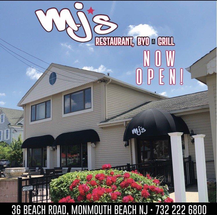 Mj's Restaurant, Byo & Grill: 36 Beach Rd, Monmouth Beach, NJ