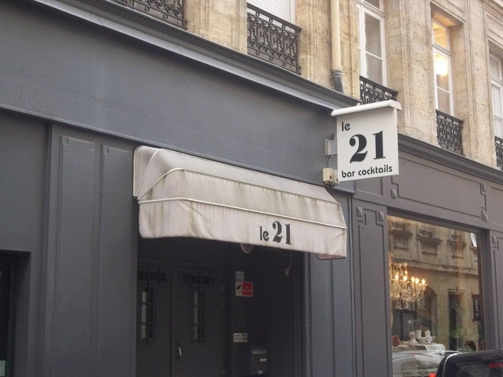 Le 21 16 avis bars 21 rue mably h tel de ville for Hotel rue lafaurie monbadon bordeaux