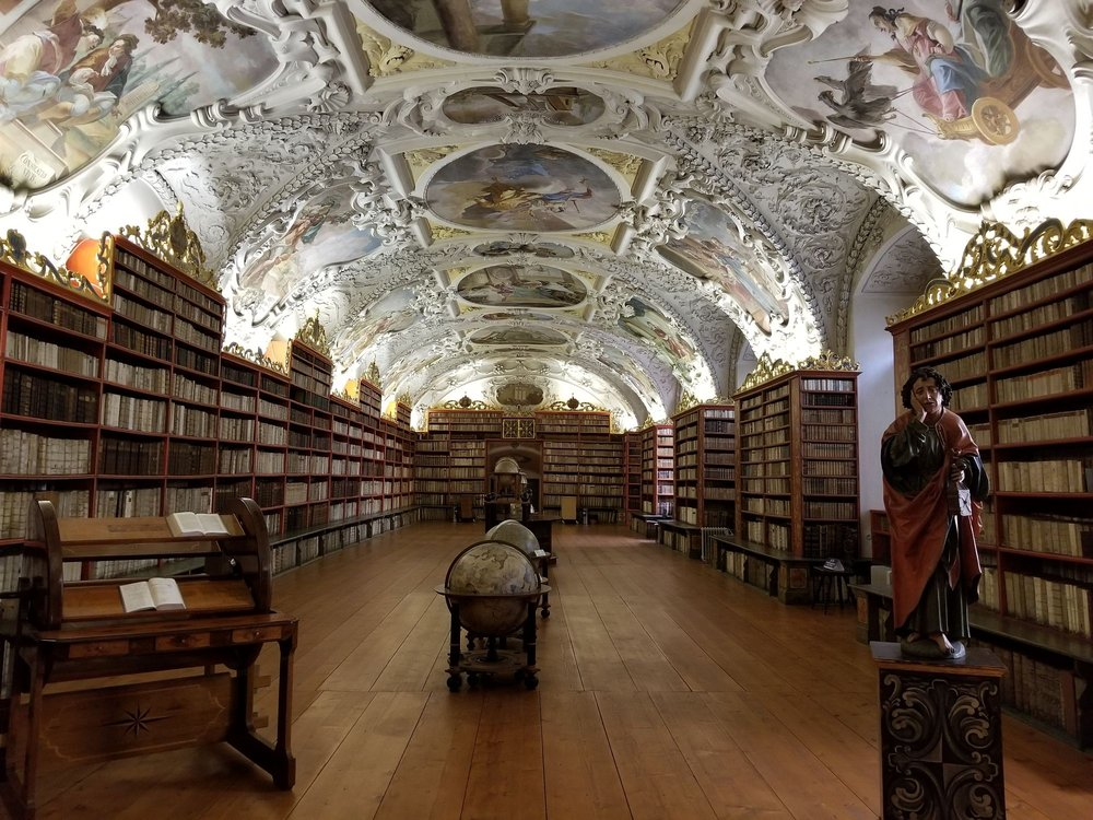 Rezultate imazhesh për Strahovská Knihovna