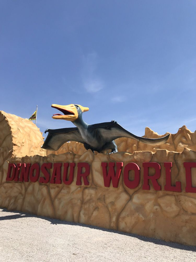 Dinosaur World: 711 Mammoth Cave Rd, Cave City, KY