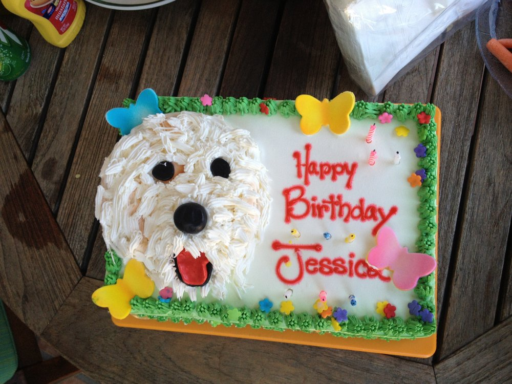 Birthday Cakes For Dogs In Los Angeles ~ Custom birthday cake of my dog yelp