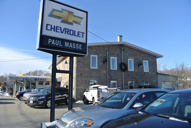Paul Masse Chevrolet South Auto Repair 399 Main St