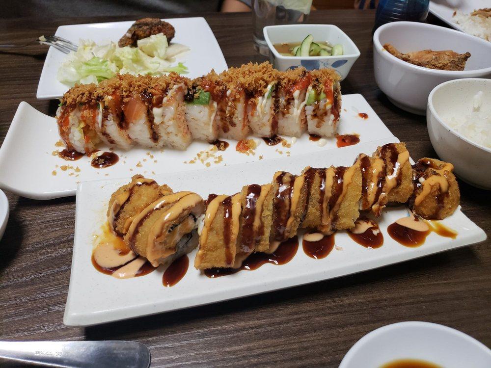 Food from Fujiyama Japanese Restaurant and Sushi