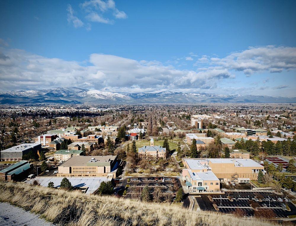 Mount Sentinel M-Trail: 1111-1201 Campus Dr, Missoula, MT