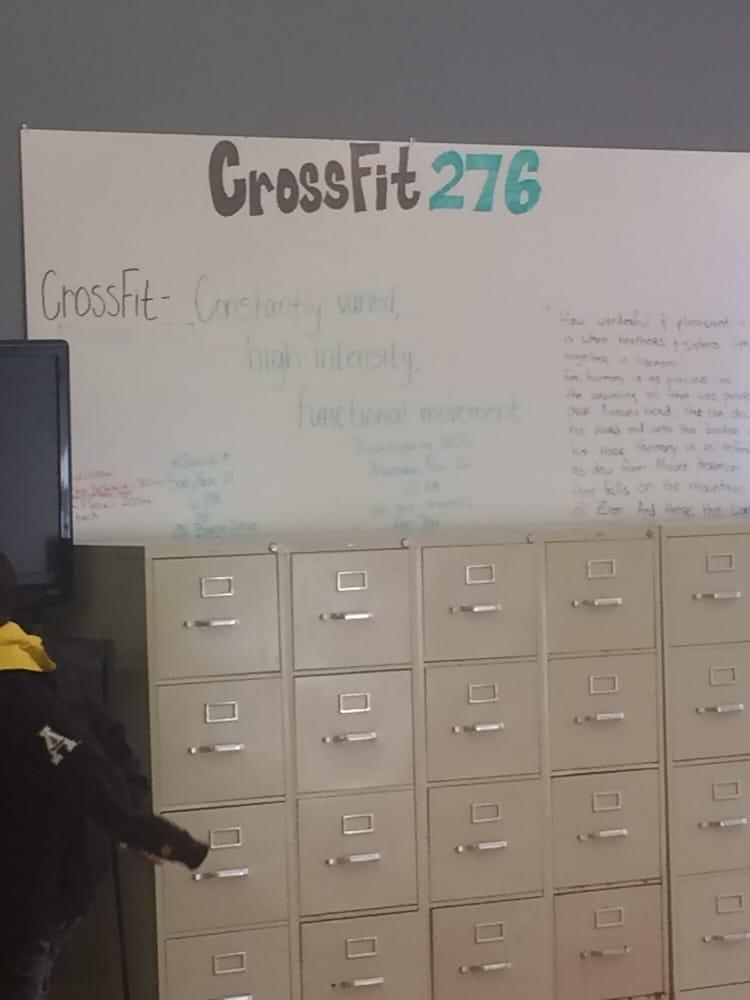 CrossFit 276: 714 Memorial Blvd N, Martinsville, VA