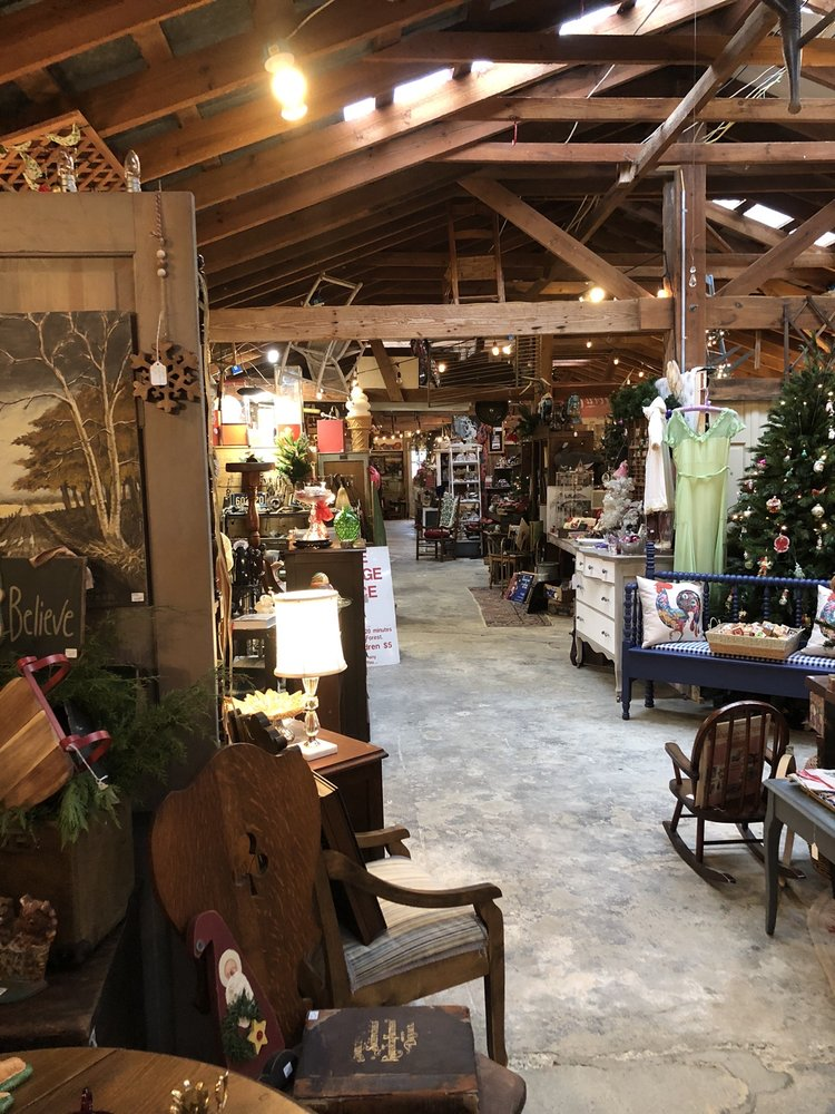SuzAnna's Antique Station: 106 NW Railroad St, Youngsville, NC