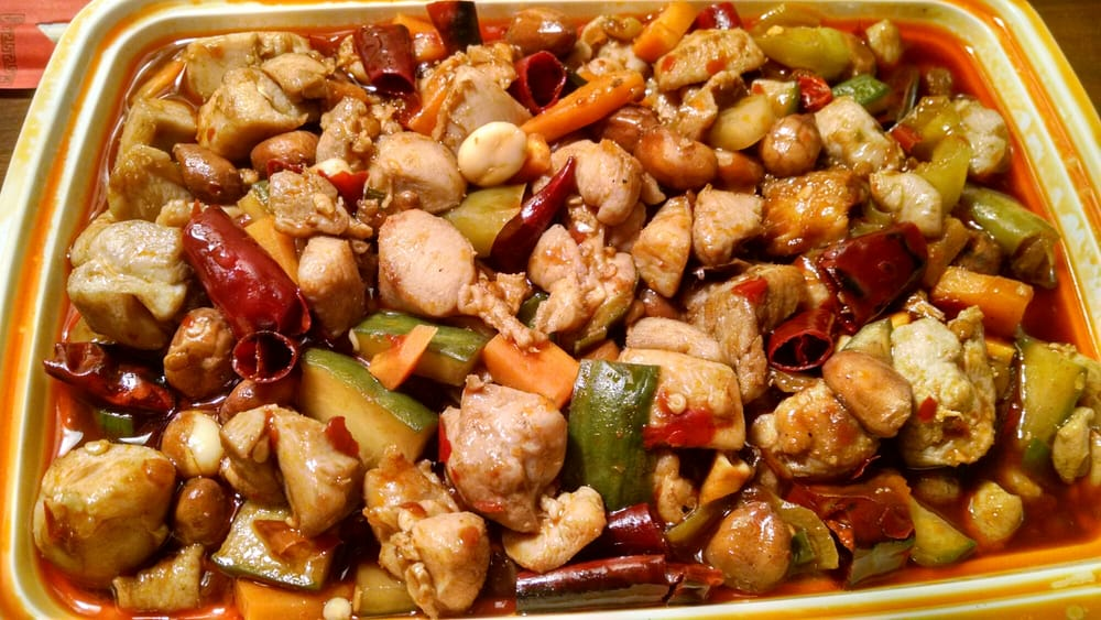 Nice Heat In The Kung Pao Chicken Yelp