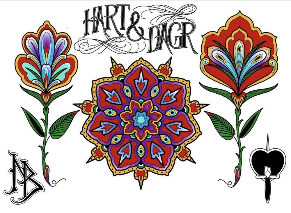 Hart and Dagr Tattoo: 446 Alisal Rd, Solvang, CA