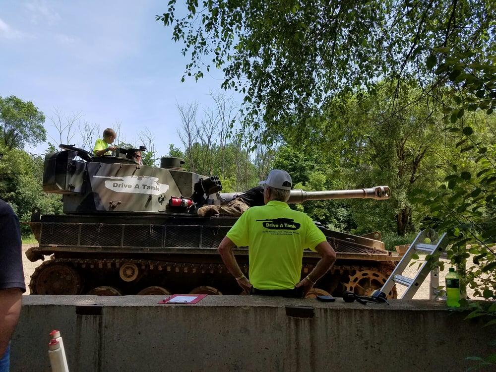 Drive A Tank: 550 W Cherry St, Kasota, MN