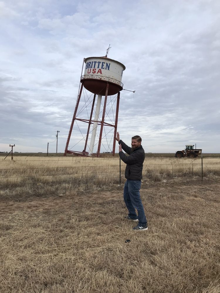 Britten Leaning Water Tower: Groom, TX