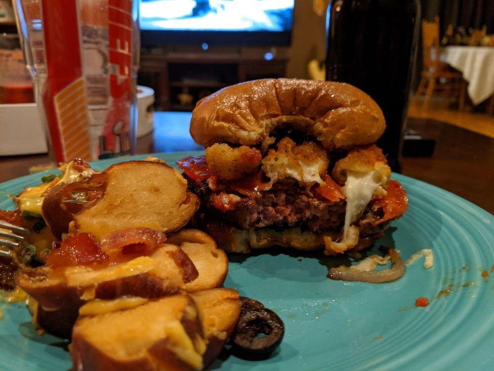 Food from Epic Burgers