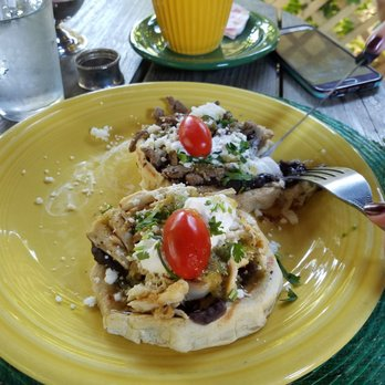 Photo Of Cascabel Mexican Patio   San Antonio, TX, United States. Sopes De