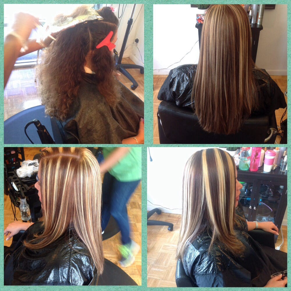 Highlights before and after yelp photo of wendy dominican hair salon clearwater fl united states highlights before pmusecretfo Gallery