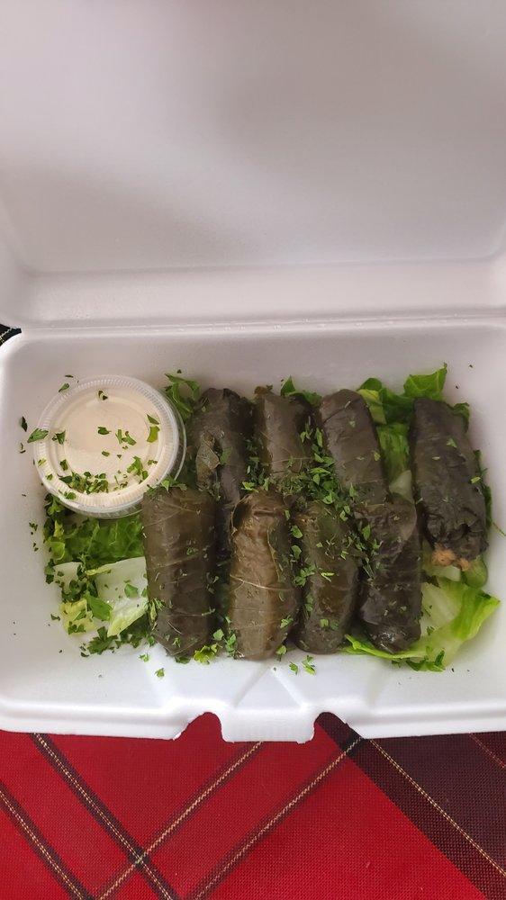 Food from Mr Shawarma