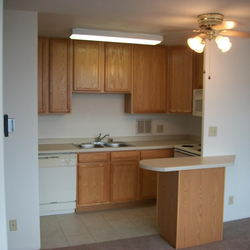 Photo Of Park Tower Apartments   Madison, WI, United States. Remodeled  Kitchen In. Remodeled Kitchen In A 1 Bedroom