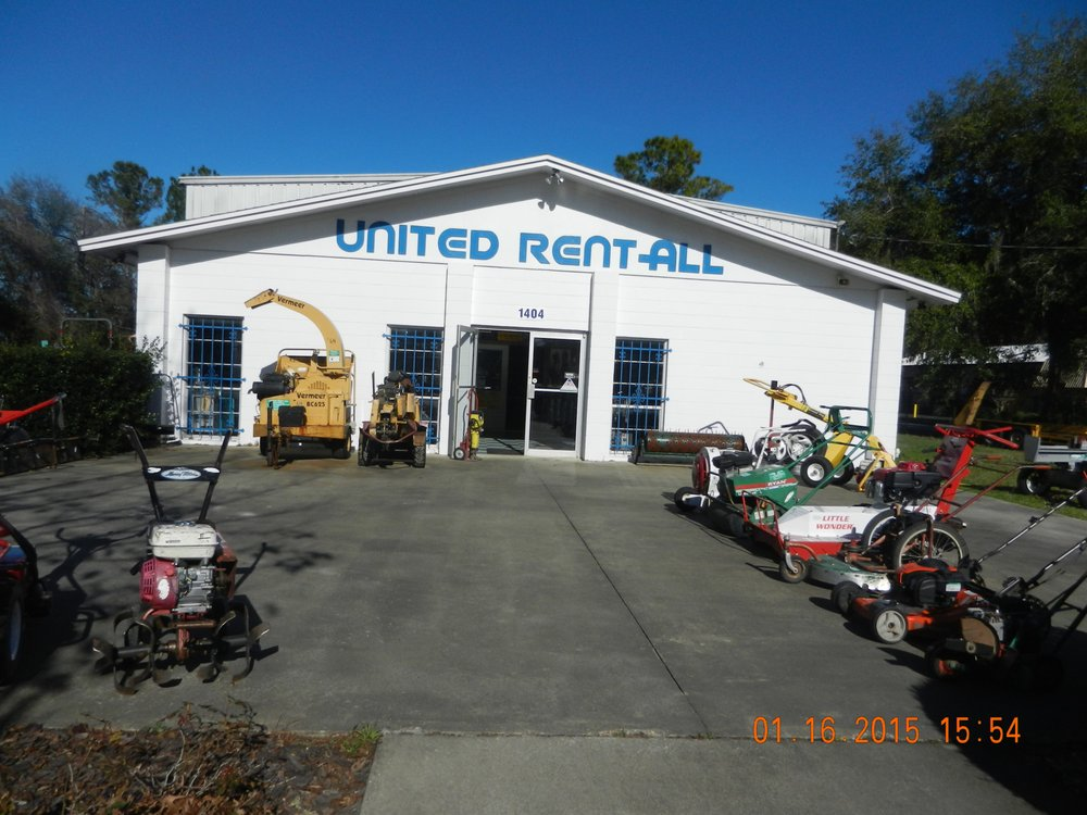 United Rent-All: 1404 NW 53rd Ave, Gainesville, FL
