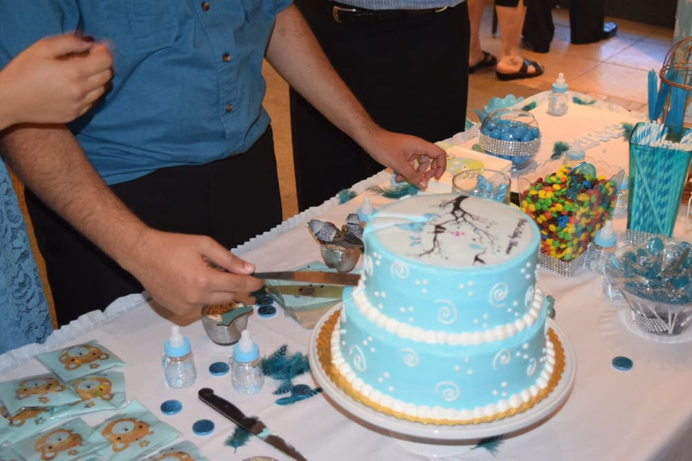 Ordered a cake two tiers for baby shower boy and they made perfect
